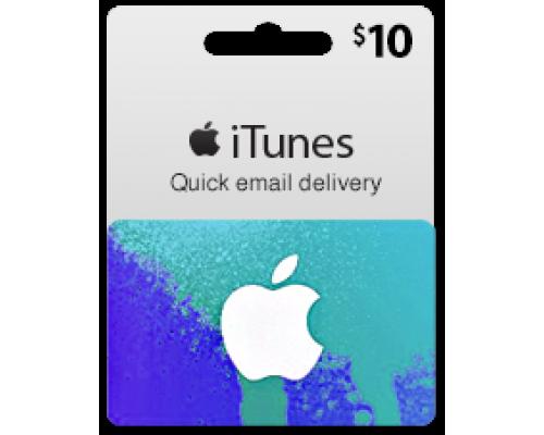 گیفت کارت آیتونز 10 دلاری (usa)