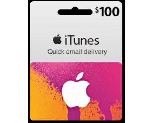 گیفت کارت آیتونز 100 دلاری (usa)