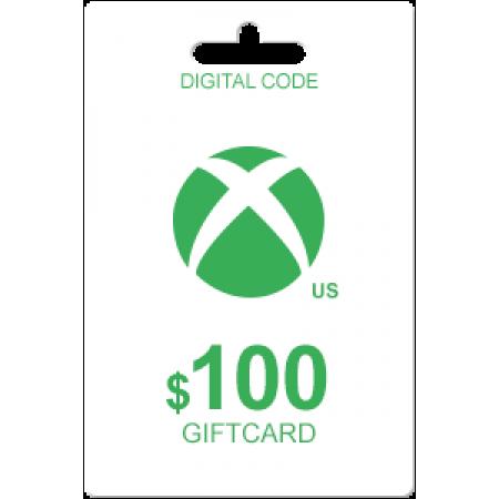 گیفت کارت 100 دلاری  (XBOX LIVE (usa