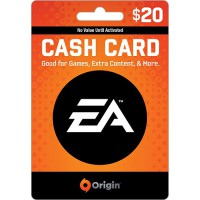 گیفت کارت 20 دلاری (EA Cash Card (US