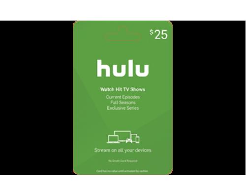 گیفت کارت 25 دلاری Hulu