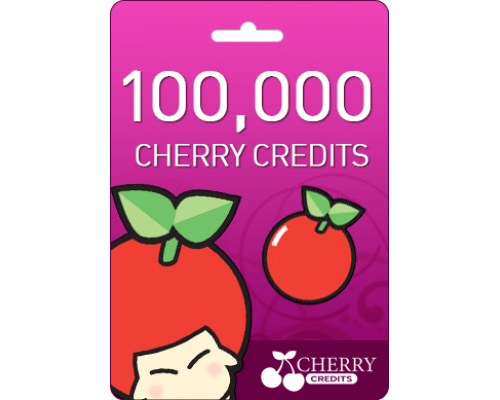 گیفت کارت  cherry 100000 cc