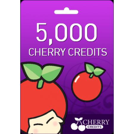 گیفت کارت  cherry 5000 cc