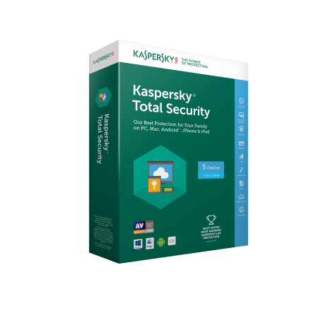 Kaspersky Total Security 2019  1pc/1year