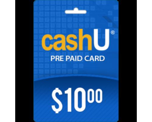 کارت 10 دلاری کش یو CashU (کشورهای عربی)