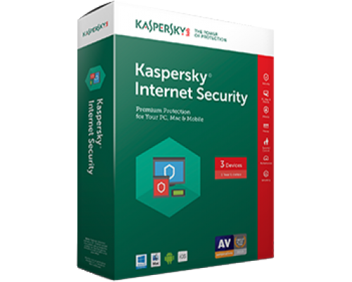Kaspersky Internet Security 2019 3pc/1year