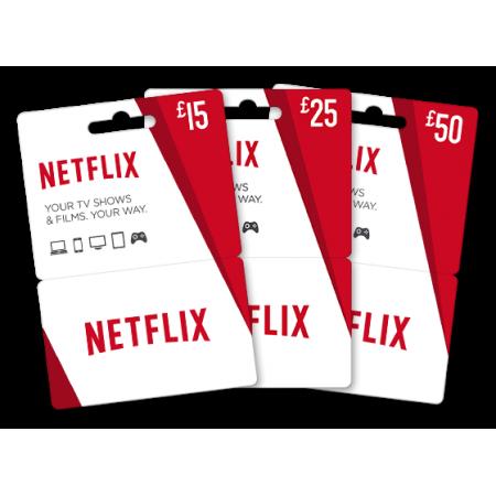 گیفت کارت 15 پوندی Netflix