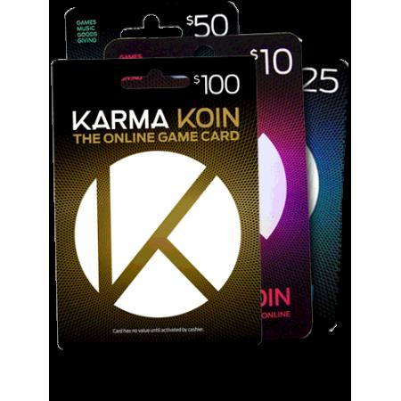 گیفت کارت 10 دلاری Karma Koin