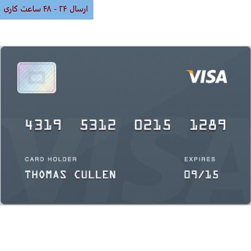 ویزا کارت مجازی 200 دلاری صادره از آمریکا