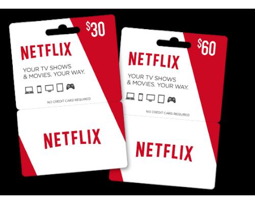 گیفت کارت 50 دلاری Netflix