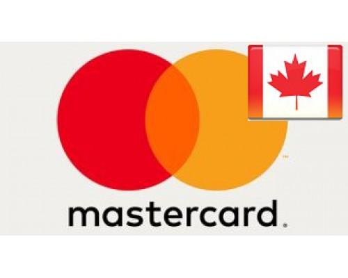 مسترکارت مجازی 50 دلاری کانادا