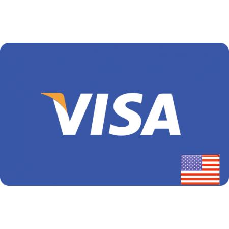ویزا کارت هدیه 100 دلاری آمریکا