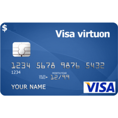 ویزا کارت مجازی 1 یورویی